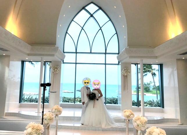 コオリナ・チャペル・プレスオブジョイ での結婚式